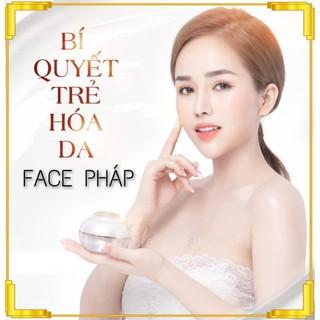 Kem Face Pháp 2020 Kem dưỡng trắng da, trị mụn, thâm, nám, tàn nhang, cung cấp collagen giúp da trắng sáng 50g thumbnail