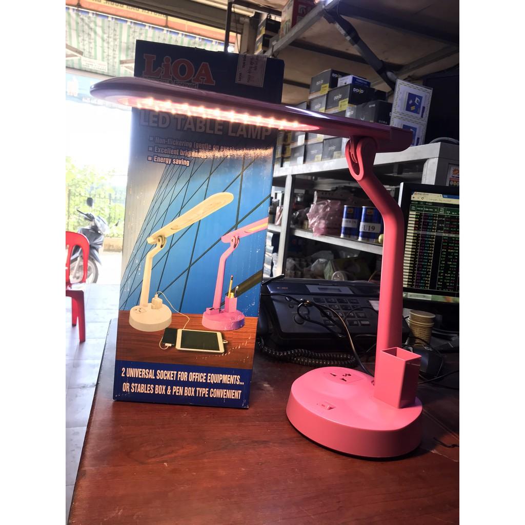 Đèn bàn LED LIOA Đổi màu (02BD - DM)
