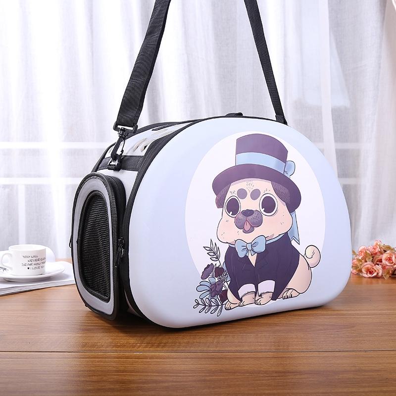 กระเป๋าเป้สะพายสัตว์เลี้ยงอเนกประสงค์แบบพกพา