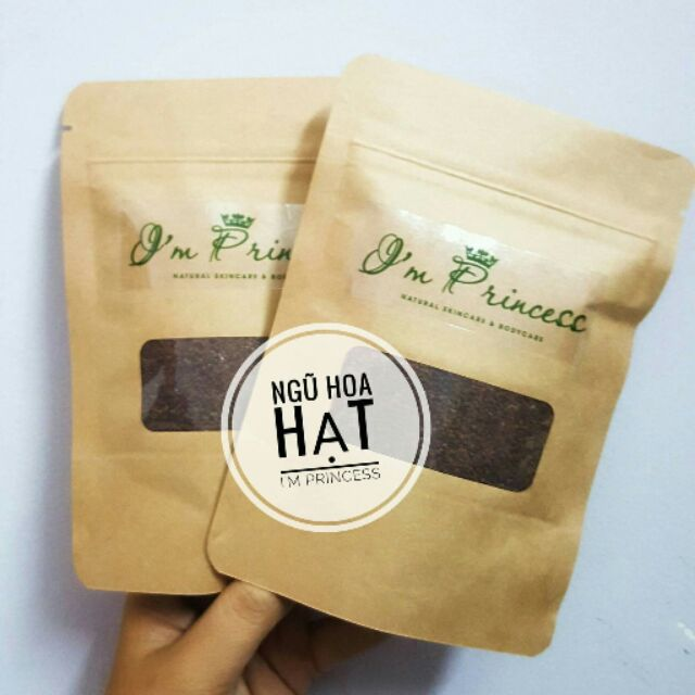 100g Ngũ Hoa Hạt Handmade hạt to bao test