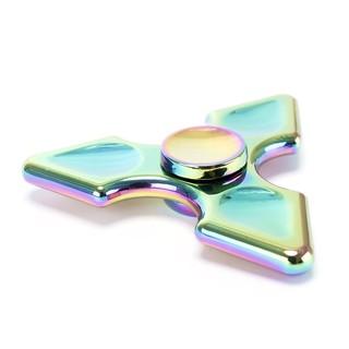 [SALE HOT] [SALE HOT] Con Quay Fidget Spinner Rainbow Hình Mũi Giáo