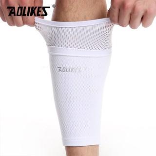 Tất vớ bóng đá bảo vệ ống đồng co giãn, thoáng khí Aolikes AL7968 (1 đôi)