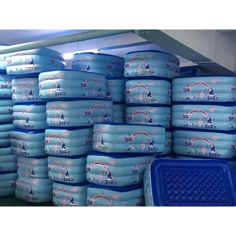 Bể bơi Summer Baby loại dày 210*145*65CM 3 tầng tặng bơm điện 2 chiều