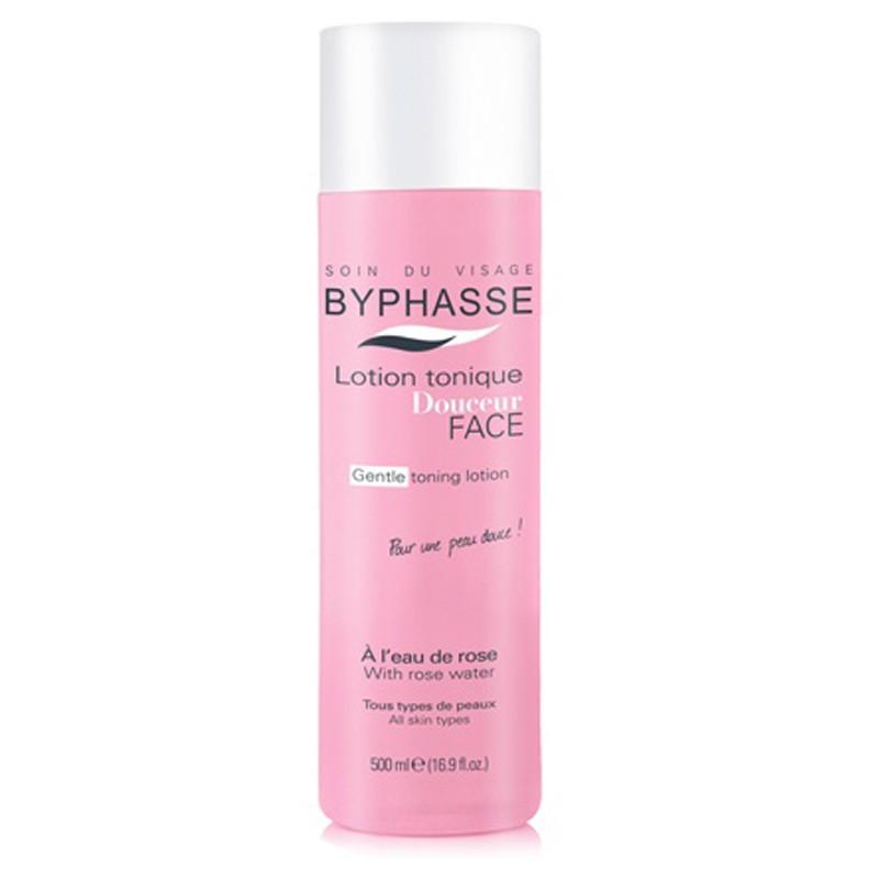 Nước hoa hồng dưỡng da Byphasse Face Soft Toner Lotion 500ml