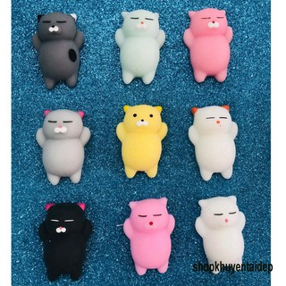[Mèo Bụng Bự] Squishy mochi dễ thương giải trí xả stress, mềm bóp đã-Squishy Mochi Hình Thú Dễ Thương
