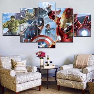 Tranh canvas nghệ thuật hình siêu anh hùng treo tường trang trí nội thất