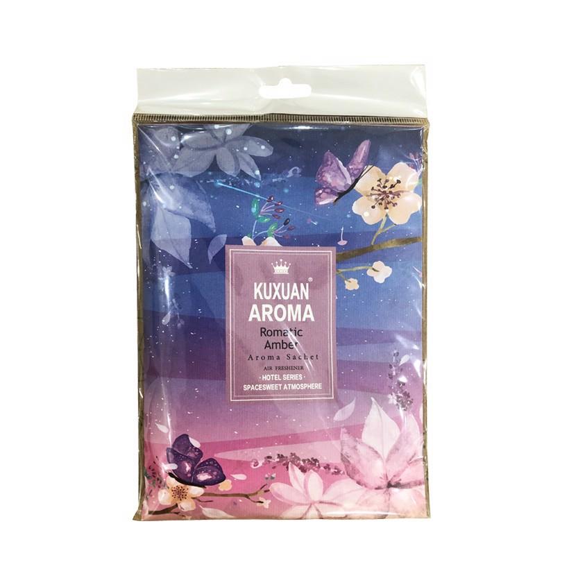 Túi thơm KUXUAN AROMA 10g - Khử mùi tủ quần áo đuổi côn trùng