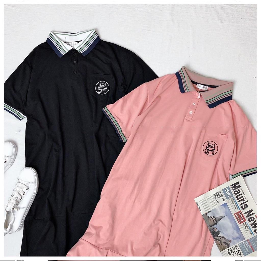 Mặc gì đẹp: Dễ chịu với Đầm bầu cotton - váy bầu công sở dáng suông cổ kẻ phối tay viền kẻ freesize tới 70kg BN33