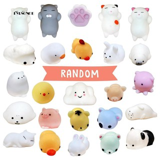 ♕18/24/30Pcs Soft Bear Cat Animal Stress Relief Squeeze Toy Decompression Gift