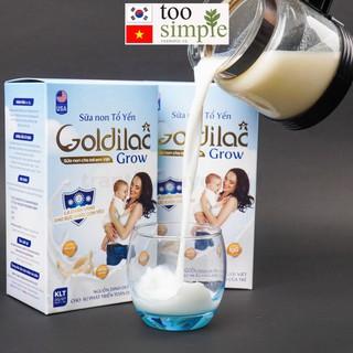 Sữa non tổ yến GOLDILAC GROW 1 gói dùng thử 10 gam thumbnail