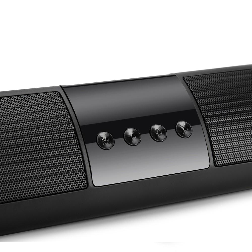 Loa Bluetooth  A2- loa bluetooth mini để bàn siêu bass, có cấu tạo loa kép, đèn nháy nhiều màu sắc.