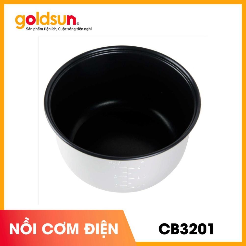 [Hàng Chính Hãng] Nồi cơm điện Goldsun CB3201 1,2Lít - Bảo Hành 24 Tháng