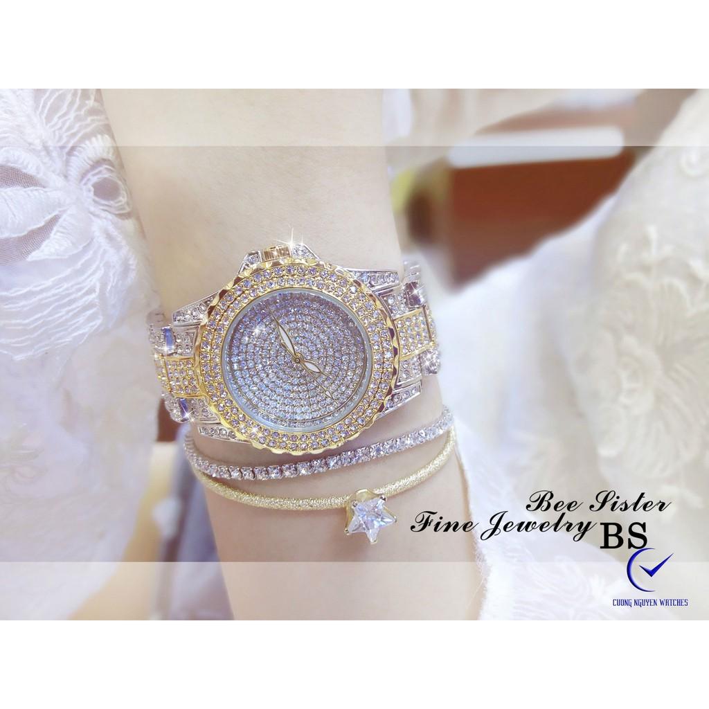 Đồng hồ nữ Bee Sister diamond cao cấp dành cho phái đẹp- BS17DM- (Demi)