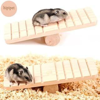 Đồ chơi bập bênh gỗ cho hamster ,chuột lang,bọ ú đồ chơi giải trí tăng trí tuệ thumbnail