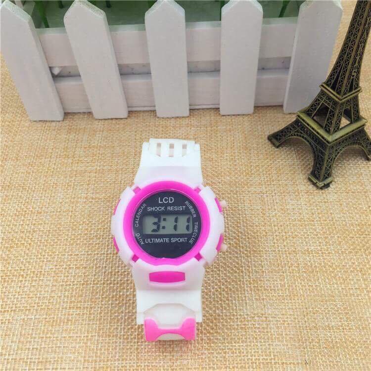 (Giá sỉ ) Đồng hồ thời trang trẻ em led SHOCK RESIST