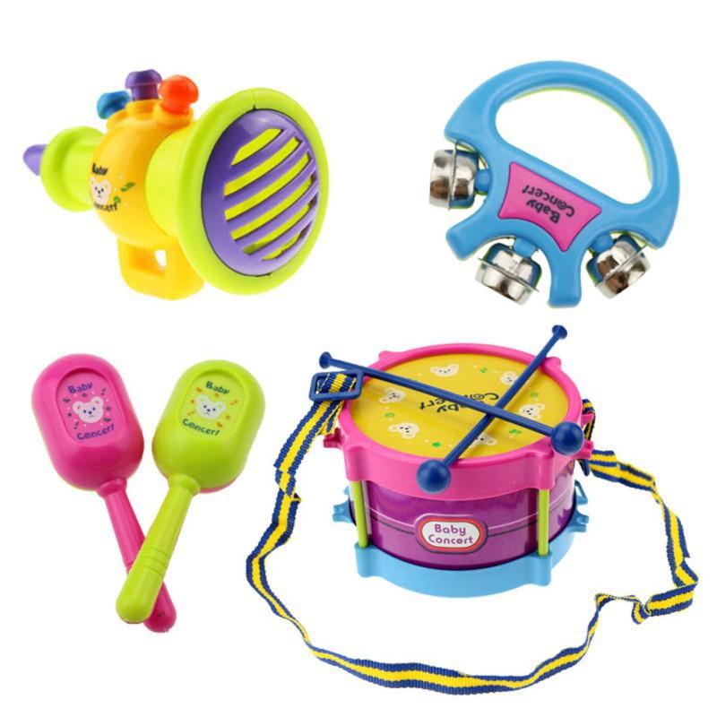 5 Bộ đồ chơi ban nhạc dùng cho trẻ nhỏ