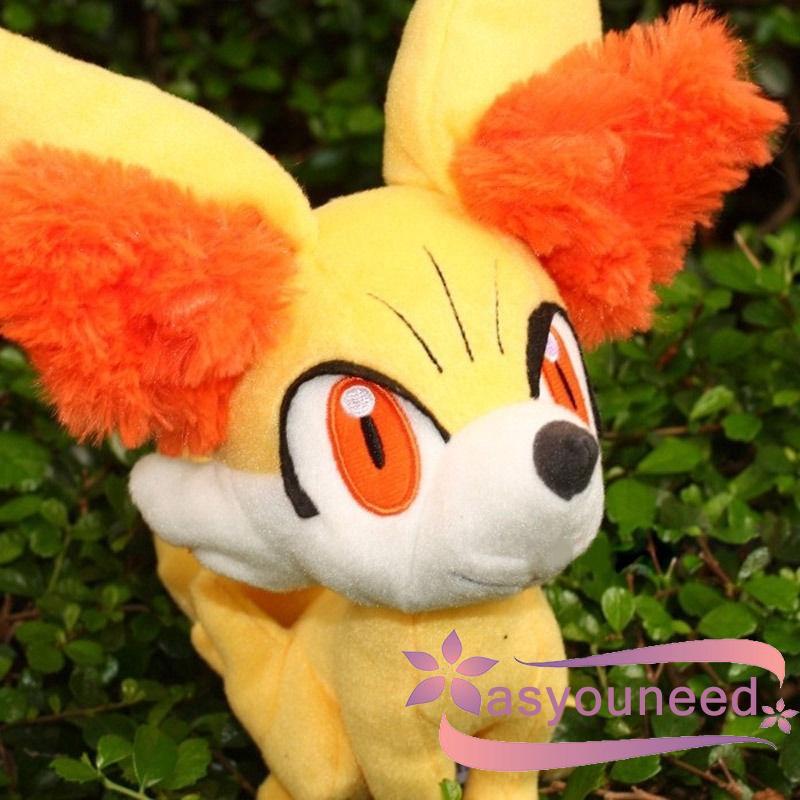 AydღPokemon Center 8´´ Fennekin Plush Stuffed Doll Anime Rare Toy 20cm Kids