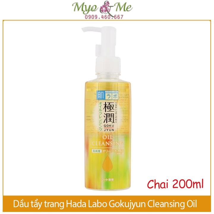 Dầu Tẩy Trang Hadalabo Gokujyun Cleansing Oil