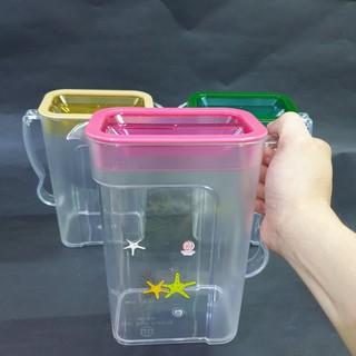 Ca Đựng Nước Bằng Nhựa Cứng, Ca Kính Vuông Dung Tích 1,8L Chất Liệu Nhựa Nguyên Sinh Cao Cấp Việt Nhật thumbnail