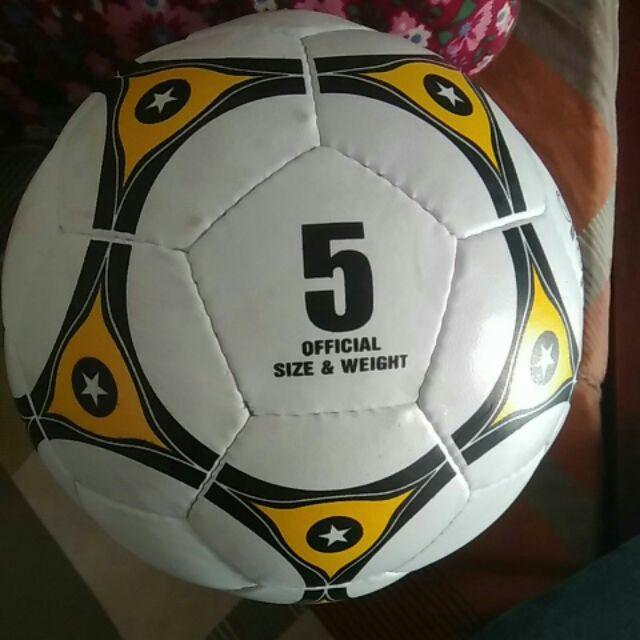 Bóng đá OFFCIAL size 5 ( tặng Kim bơm bóng)