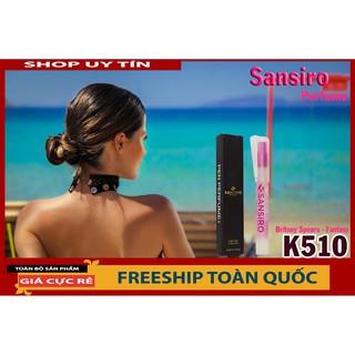 Nước hoa nữ thơm lâu Sansiro Thổ Nhĩ Kỳ 8ml - K510 - [Giá tốt - CHÍNH H thumbnail