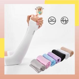 Ống tay chống nắng chống tia UV dành cho nam và nữ full hộp; Găng tay chống nắng, G03 - BONMIE