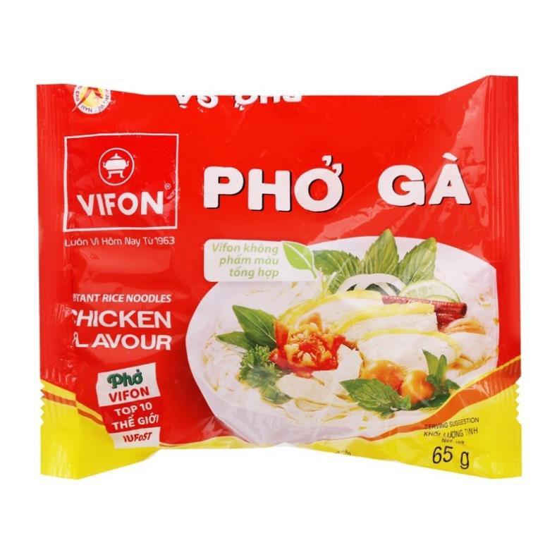 PHỞ BÒ/ PHỞ GÀ VIFON 65G