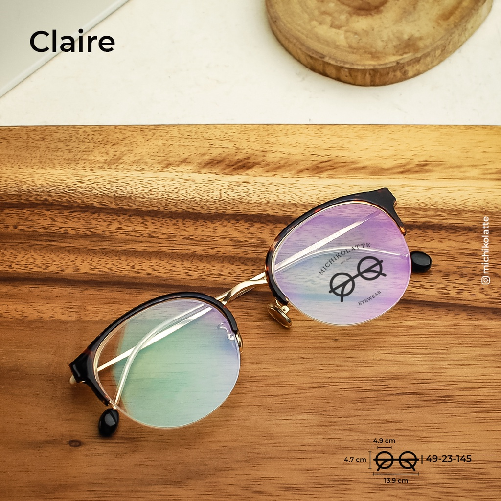 Gọng kính Michikolatte   Claire