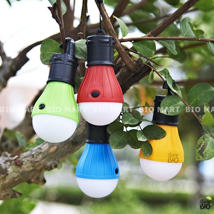 Bóng đèn treo lều cắm trại, dã ngoại, phượt 3 chế độ khẩn cấp chống thấm nước có thể điều chỉnh độ sáng - TB029