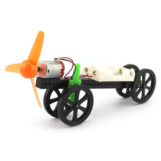 DIY Assault Propeller Car Puzzle Creative Toy for Kids