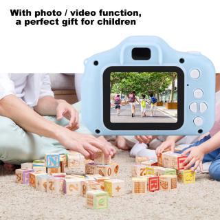 Children's Digital Camera HD 1080P X2 Mini Portable 2.0 inch IPS Color Screen