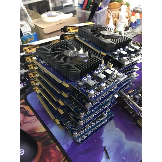 XẢ HÀNG_VGA ZOTAC 9600GT 512MB/DDR3/256BIT CHIẾN GAME ONLINE GIÁ RẺ