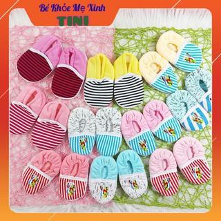 Giày baby cotton cao cấp Yến Trân cho bé sơ sinh thumbnail
