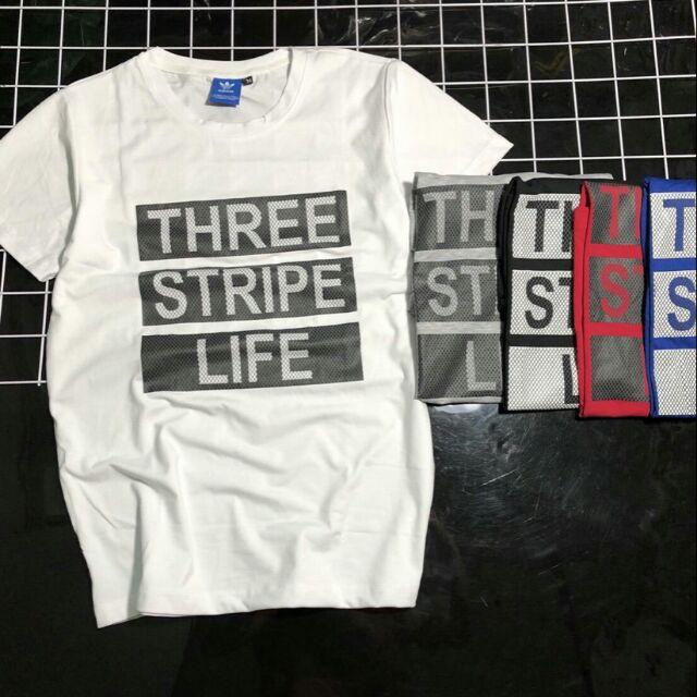ÁO THUN NAM THREE STRIPE LIFE