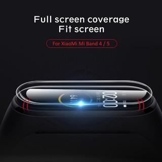 Miếng dán phim TPU mềm bảo vệ toàn màn hình cho đồng hồ miband 4 miband 5 thumbnail