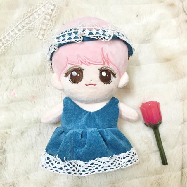 Outfit váy cho doll (tặng kèm nơ)