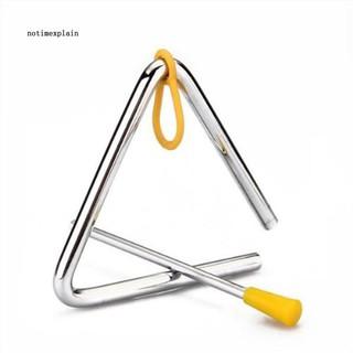 Chuông tam giác kích thước 4inch dùng làm nhạc cụ dạy học mẫu giáo