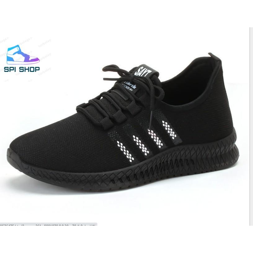 Giày Sneaker Thể Thao Phom Hàn Quốc - G15 - Đen