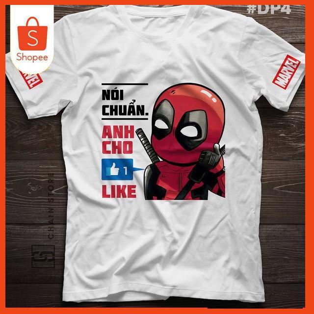 [marvel] Áo phông Deadpool dành cho các tín đồ marvel