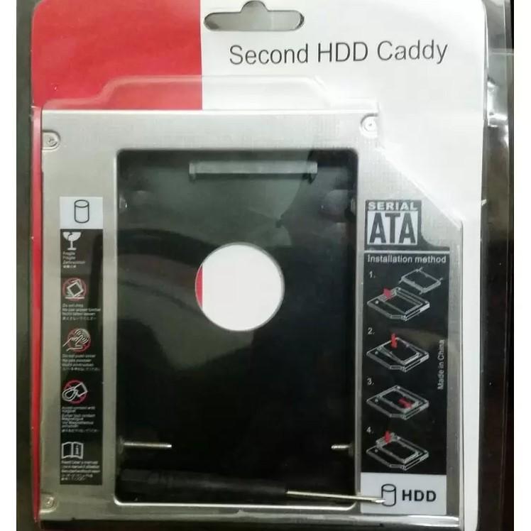 Caddy Bay SATA 9.5mm gắn thêm ổ cứng cho Laptop - 2582672 , 179409964 , 322_179409964 , 200000 , Caddy-Bay-SATA-9.5mm-gan-them-o-cung-cho-Laptop-322_179409964 , shopee.vn , Caddy Bay SATA 9.5mm gắn thêm ổ cứng cho Laptop