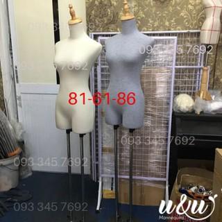 Manocanh nữ vải thun cao cấp siêu bền siêu đẹp chân sắt (size S)