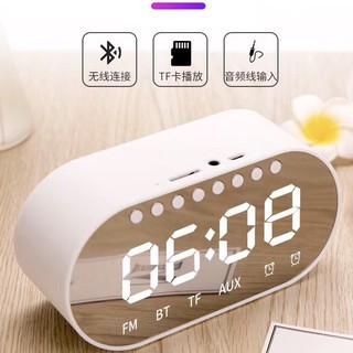 [Mã ELFLASH5 giảm 20K đơn 50K] loa bluetooth [deal sock] kiêm đồng hồ báo thức - Loa bluetooth mini T1
