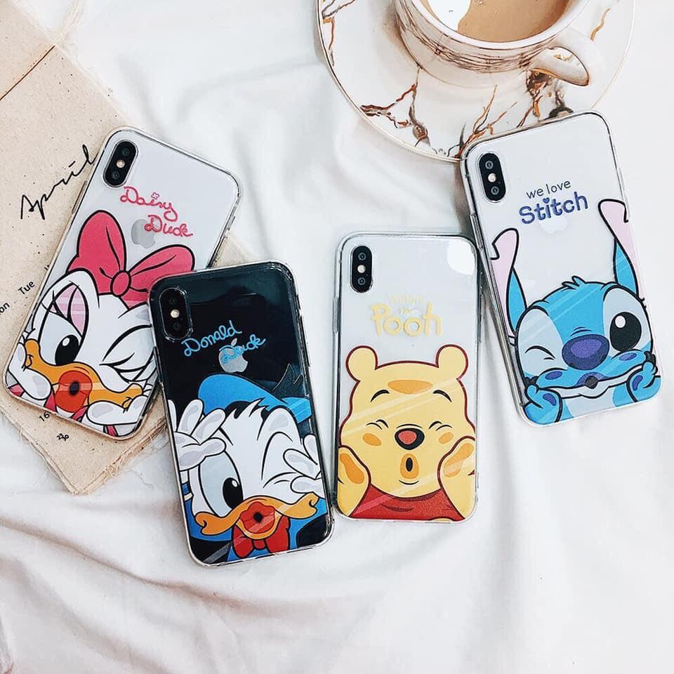 Ốp iphone - M14 Still - Pooh - Daisy - Donal