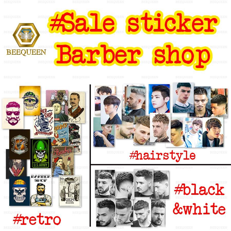 [Deal] Combo Siêu Rẻ 35 -150 Sticker Barber Shop Cực Hot