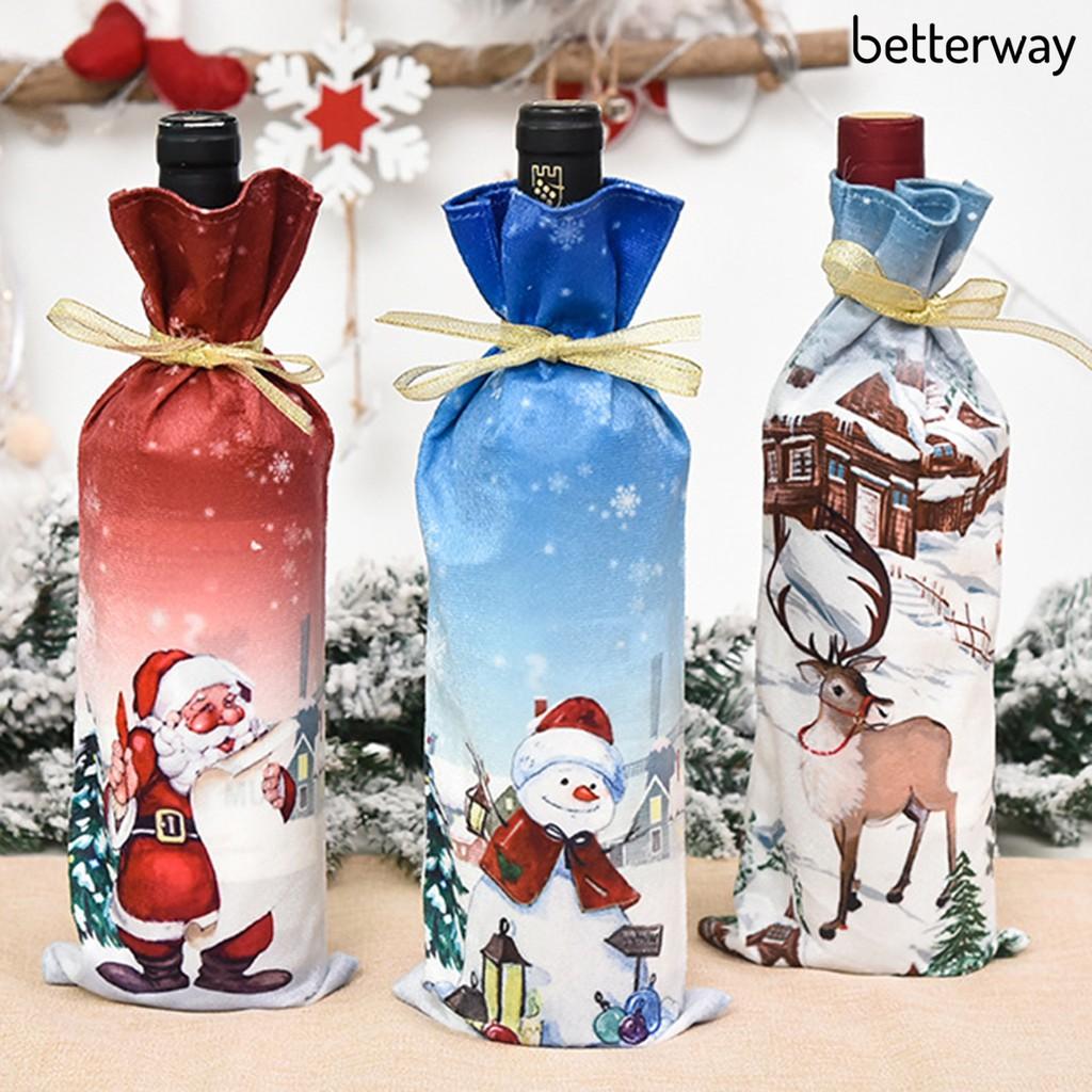 Búp Bê Trang Trí Giáng Sinh In Hình Hoạt Hình Sáng Tạo