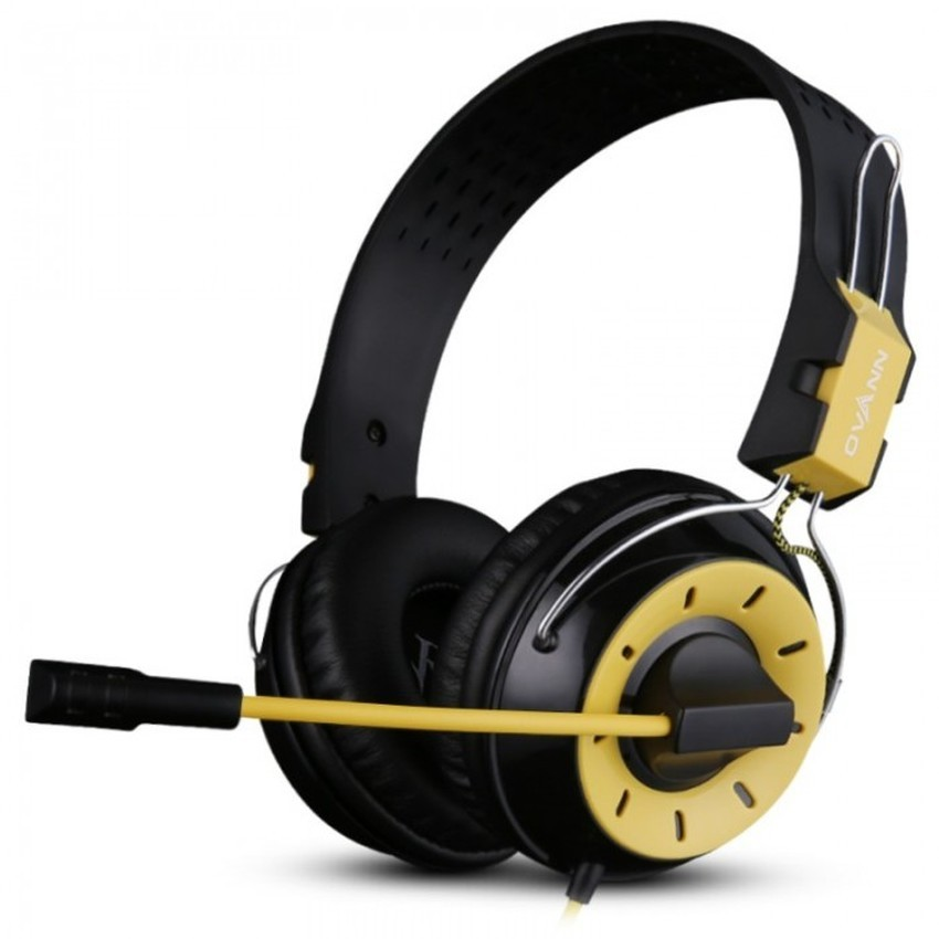 Tai nghe chuyên game Ovann X10 (Vàng đen)