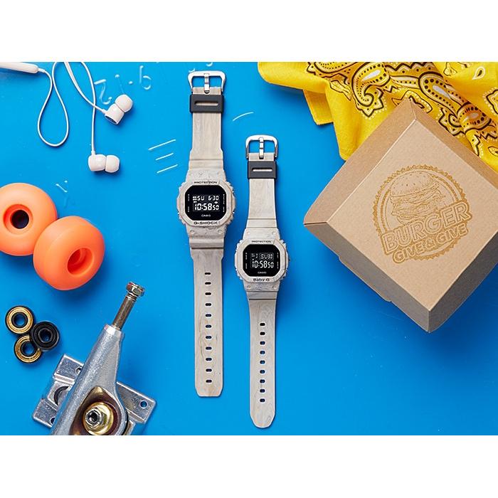 Đồng hồ Nam Dây Nhựa Casio G-Shock DW-5600WM-5 chính hãng bảo hành 5 năm Pin trọn đời