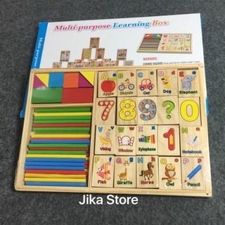Bảng gỗ tập tính cho bé Jika Store