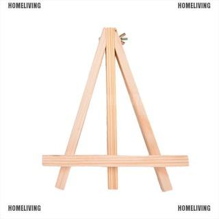 【Homeliving】1pc Mini Wooden Art Holder Artwork Display Novelty Easels Drawing Boards,