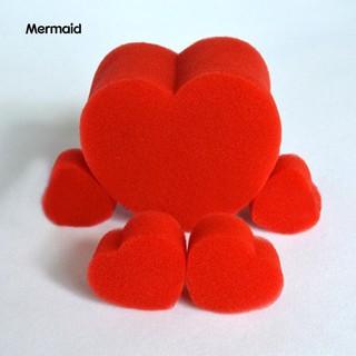 5Pcs/Set Close-Up Magic Street Classical Comedy Trick Soft Red Sponge Heart